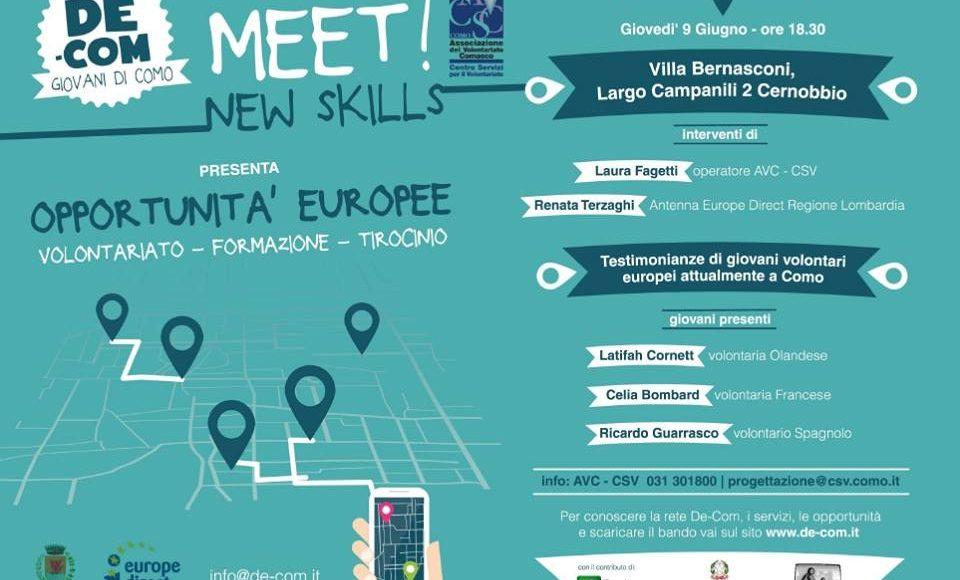 MEET Opportunità Europee