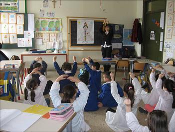 Meditazione nelle scuole