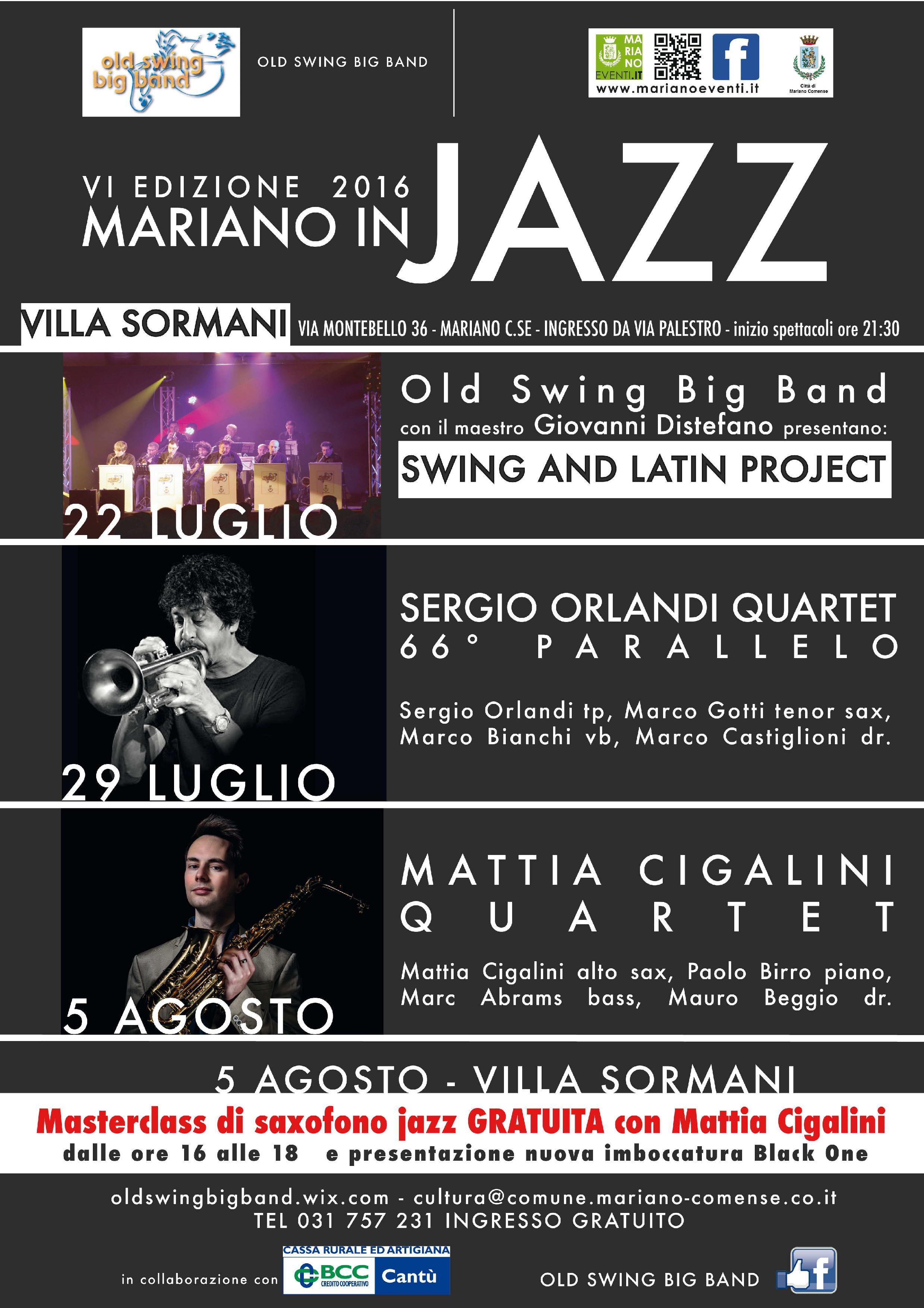 MARIANO IN JAZZ