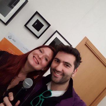 Silvia Anna (Forum Giovani Monza) e Fulvio