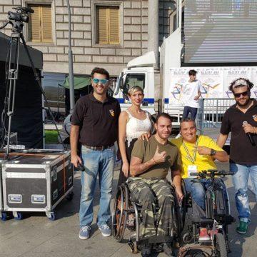 Fulvio & Masta con Tarek & Sara e Alessio Tavecchio