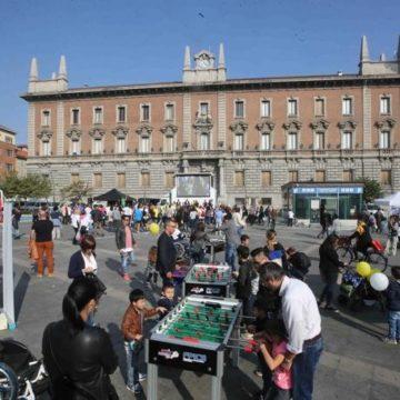 Panoramica sulla piazza