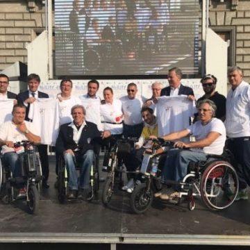 Presentazione dell'evento con il sindaco Allevi e la sua giunta 2