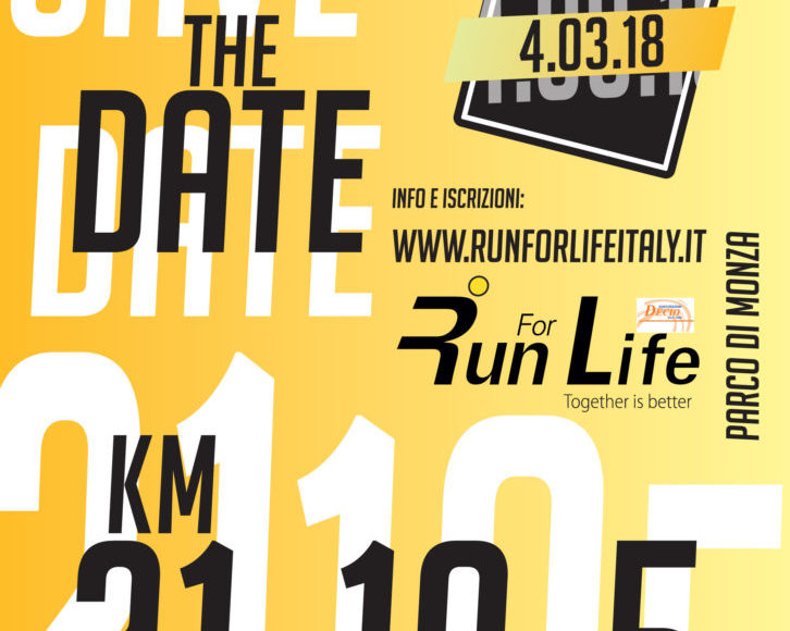 Run For Life #together is better 5km 10km 21km