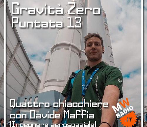 Gravità Zero 01.07.2019 – Quattro chiacchiere con Davide Maffia