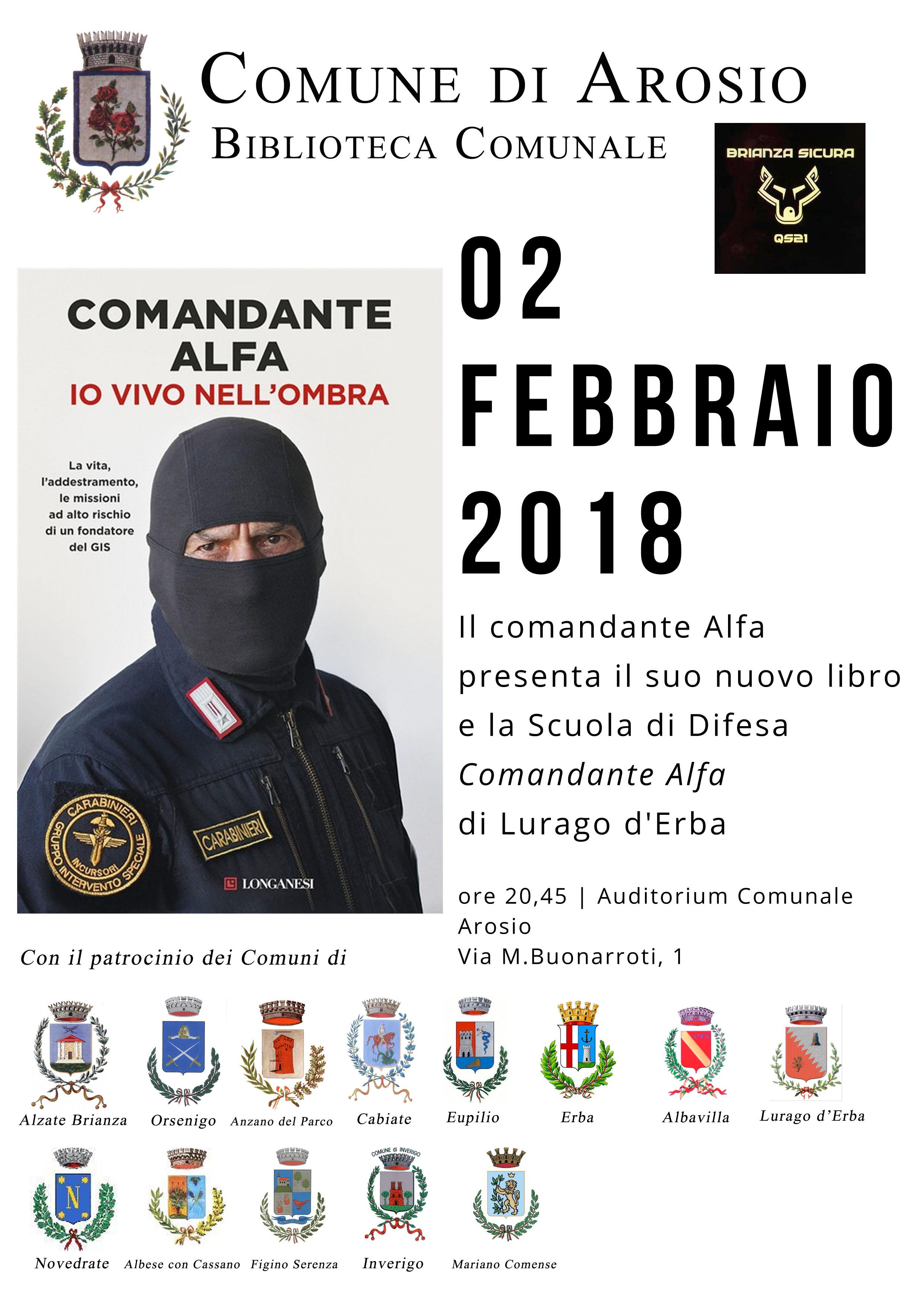 manifesto comandante Alfa 18