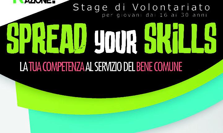 Stage di Volontariato 2018: Spread your Skills!